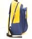Школьный рюкзак дешевый, вид сбоку